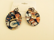 University of Illinois Fighting Illini Earrings