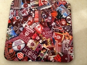 Indiana Hoosiers Coasters 4 Piece Set