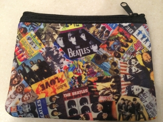 Beatles Zipper Wallet
