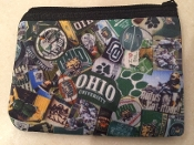 Ohio University Zipper Wallet