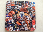 University of Illinois Fighting Illini Coaster 4 Piece Set