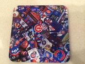 Chicago Cubs Coaster 4 Piece Set