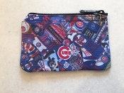 Chicago Cubs Zipper Wallet