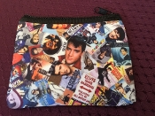 Elvis Zipper Wallet