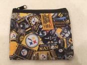 Pittsburgh Steelers Zipper Wallet