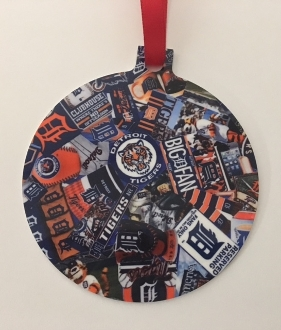 Detroit Tigers Ornament-Browning
