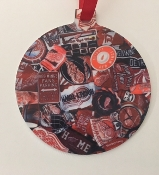 Detroit Red Wings Ornament - Browning