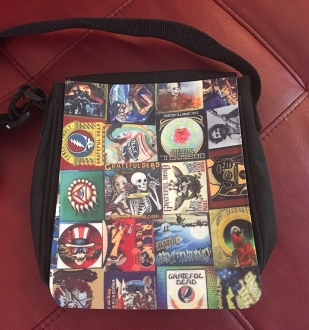 Grateful Dead Crossbody Purse