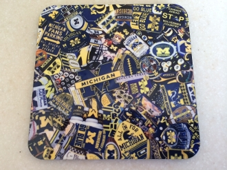 Michigan Coasters 4 Piece Set