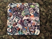 Michigan State Coaster 4 Piece Set