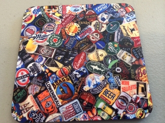 Beer Coaster 4 Piece Set
