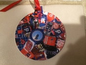 Dayton Flyers Ornament