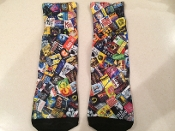 Fun Collage Socks