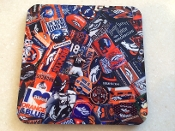 Denver Broncos Coaster 4 Piece Set