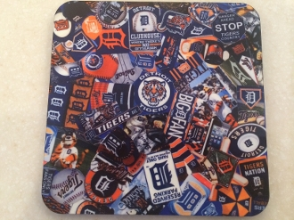 Detroit Tigers Coaster - Browning