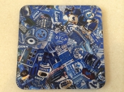 Detroit Lions Coaster 4 Piece Set