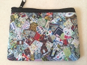 Mah Jongg Zipper Wallet