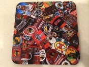 Chicago Black Hawks Coaster 4 piece set