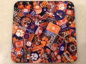 Clemson Tigers Coaster 4 piece set