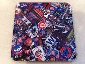 Chicago Cubs World Series Coaster 4 Piece Set