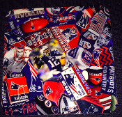 New England Patriots Coaster 4 Piece Set