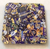 Louisiana State University Coaster 4 Piece Set