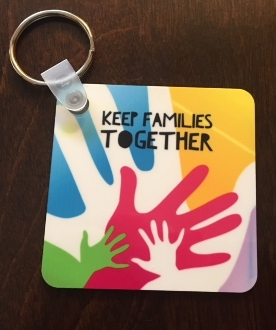 Keep Families Together Keychain