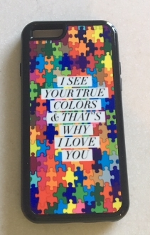 Autism True Colors IPhone Case