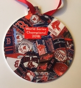 Boston Red Sox World Series Champs Ornament